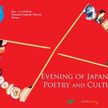 Mbrëmje me Poezinë dhe Kulturën Japoneze